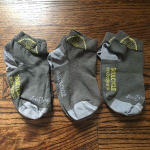 Soul Cycle Socks, 3 Pair Bundle